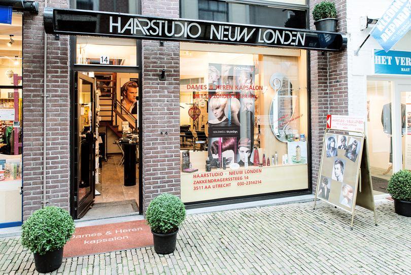 Haarstudio Nieuw Londen, Utrecht - Kapper - Zakkendragerssteeg 14