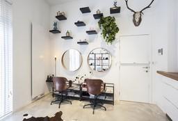 Hairdresser Antwerpen (Hair straightening) - ANDROGYN